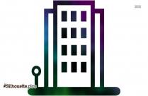 Building Icon Clipart Silhouette