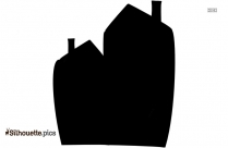 Big Ben Tower Silhouette Picture, Clock Building Clipart