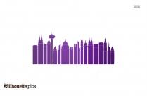 Cityscape Silhouette Image
