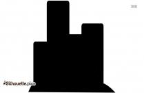 Commercial Buildings Clipart Silhouette