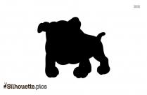 Cartoon Dog Clipart Silhouette