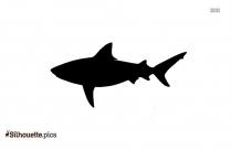 Bull Shark Silhouette Clip Art
