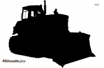 Tractor Vehicle Silhouette