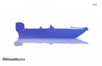 Free Pontoon Boat Silhouette