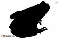 Frog Silhouette Drawing