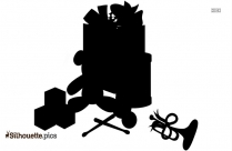 Baby Toys Silhouette Clipart