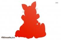 Bunny Love Silhouette