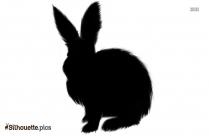 Cartoon Rabbit Silhouette Icon