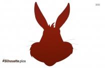 Bunny Silhouette Clip Art