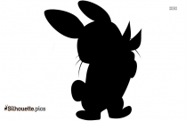 Free Pet Rabbits Silhouette