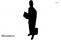 Businessman Silhouette Clip Art