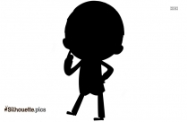 Businessman Thinking Silhouette