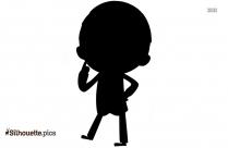 Businessman Thinking Silhouette