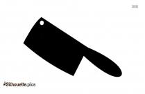 Scalpel Knife Silhouette