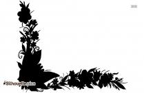 Sunflower Frame Silhouette Image