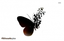 Butterfly Silhouette Clipart Picture