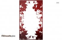 Cartoon Rose Silhouette Clipart
