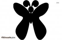 Stencil Butterfly Silhouette Clip Art