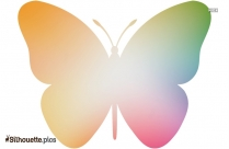 Butterfly Art Silhouette, Vector