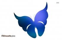 Designer Butterfly Silhouette