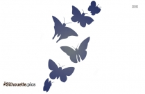 Butterfly Drawing Silhouette Image