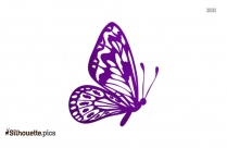 Butterfly Drawings Silhouette Free Vector Art
