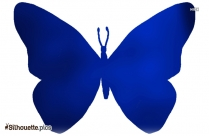 Butterfly Drawing Silhouette Clipart