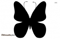 Butterfly Drawings Silhouette Image And Vector