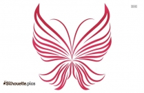 Beautiful Butterfly Outline Silhouette Image And Vector