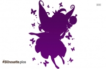 Fairy Drawings Silhouette Drawing Vector