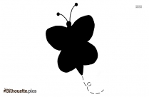 Butterfly Silhouette Image, Vector Art, Clipart