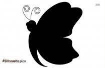 Papillon Clipart Silhouette
