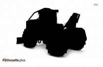 Cable Skidder Silhouette