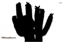 Cactus Silhouette Clip Art