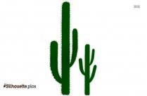 Cactus Silhouette Clipart Picture