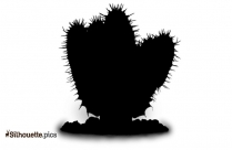 Cactuses Silhouette Image And Vector