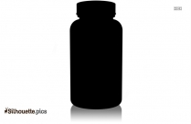 Ketchup Bottle Clip Art Silhouette