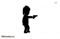 Caillou Boris Silhouette Free Vector Art