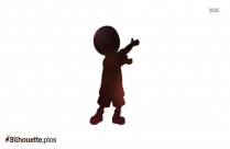 Little Boy Clipart Silhouette Vector And Graphics