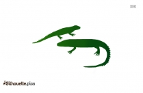 Lizard Outline Download Silhouette
