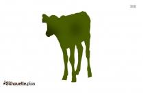 Baby Calf Silhouette