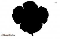 California Poppy Silhouette Picture