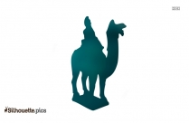 Camel Pottery Logo Silhouette For Download