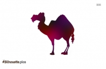 Camels Clipart Cartoon Silhouette