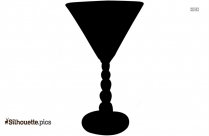 Candlewick Glass Silhouette Clipart