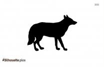 Alpaca Silhouette Free Vector Art Image