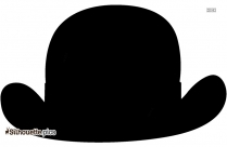 Christmas Hat Silhouette Clipart