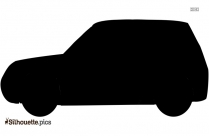 Wedding Limo Car Silhouette