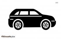 Cartoon Car Silhouette Clipart