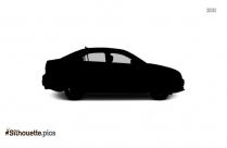 Car Side View Silhouette Vector And Graphics
